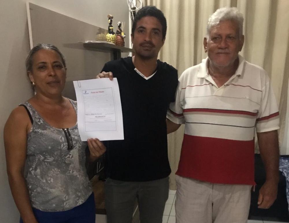 Progressistas filia mais 3 vereadores em Júlio Borges