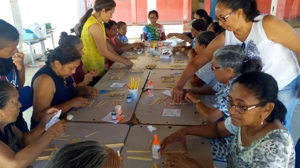 Idosos de Redenção participam do 'É Preciso Saber Viver'
