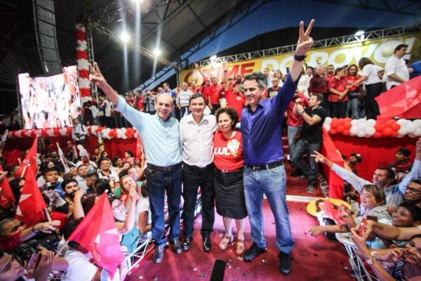 Ciro oficializa sua candidatura ao senado e W. Dias ao de Governo
