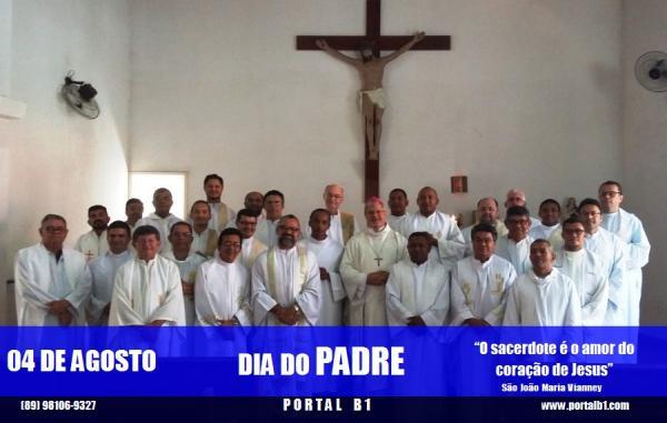 Portal B1 lembra que hoje (4) é celebrado o dia do Padre