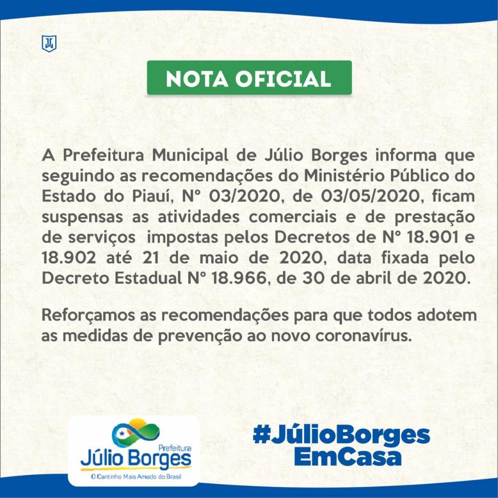 Comunicado: Lotérica terá atendimento suspenso em Júlio Borges