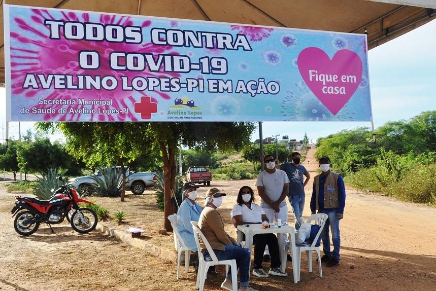 Avelino Lopes instala barreira sanitária contra coronavírus