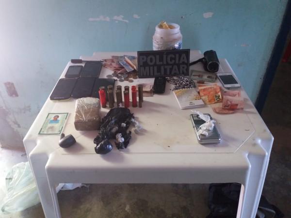 Polícia prende dois traficantes de drogas na cidade de Redenção do Gurgueia