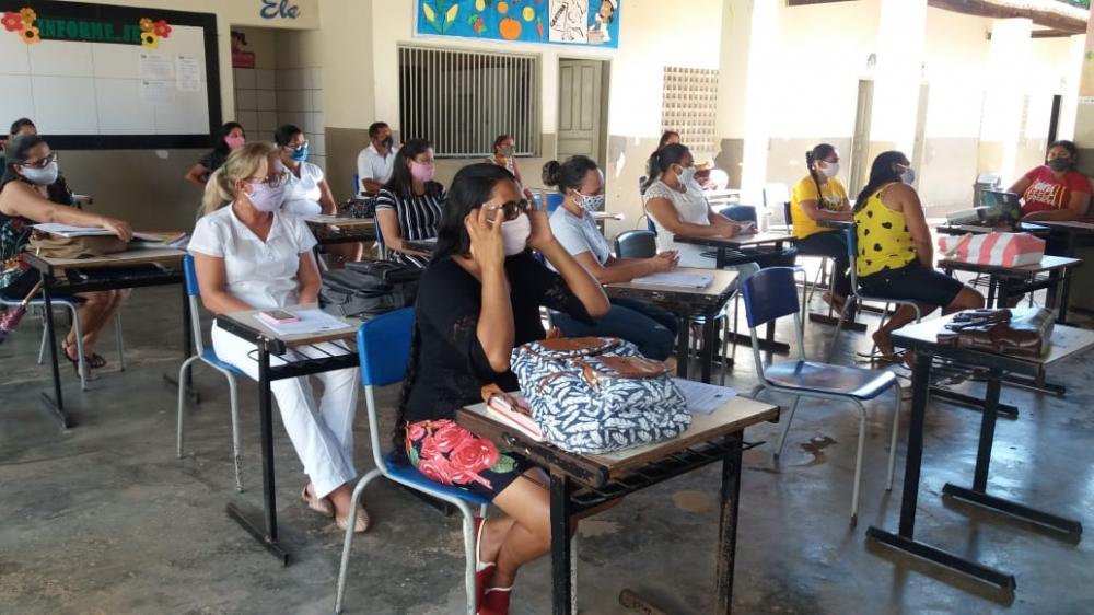 Educação de Santa Luz desenvolve ações educativas na pandemia