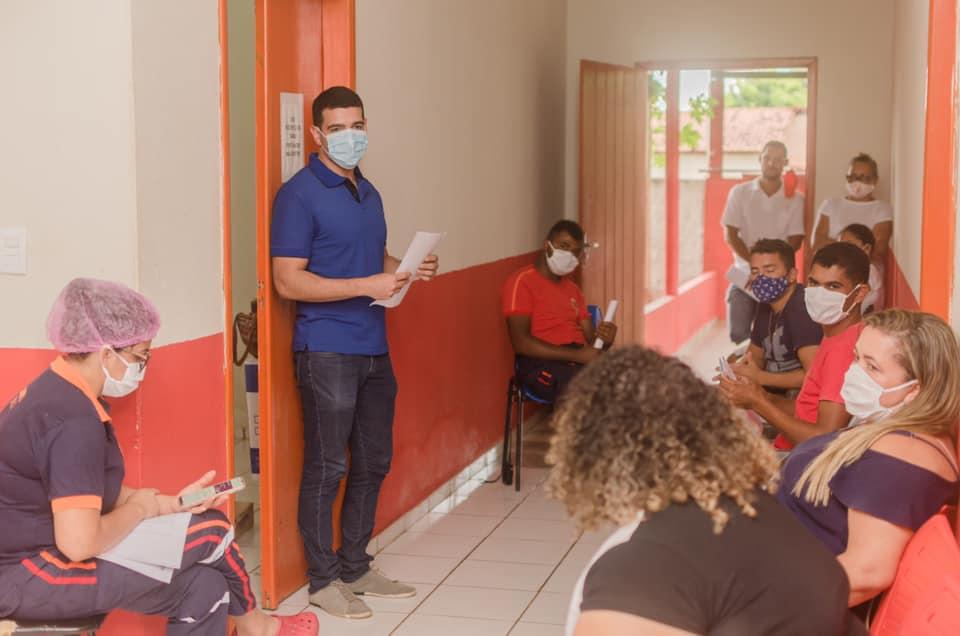 Saúde passa orientações para os profissionais da área em Santa Filomena