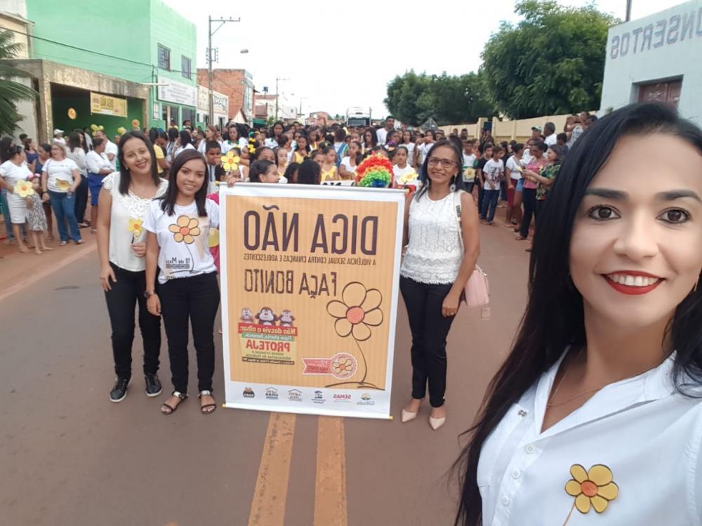 Foto da campanha em 2019