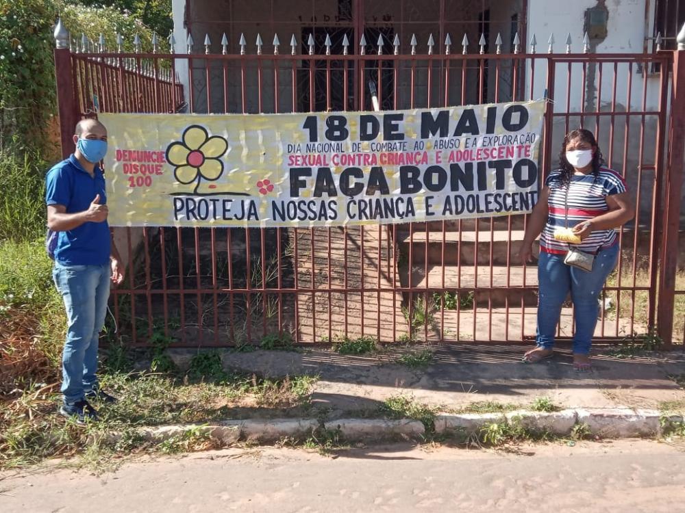 18 de Maio: Prefeitura de Redenção e Conselho Tutelar desenvolvem atividades