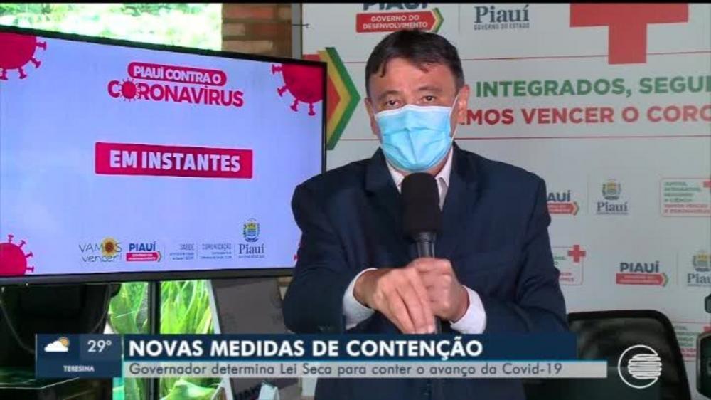 Governo novamente decreta medidas mais duras para o fim de semana no Piauí