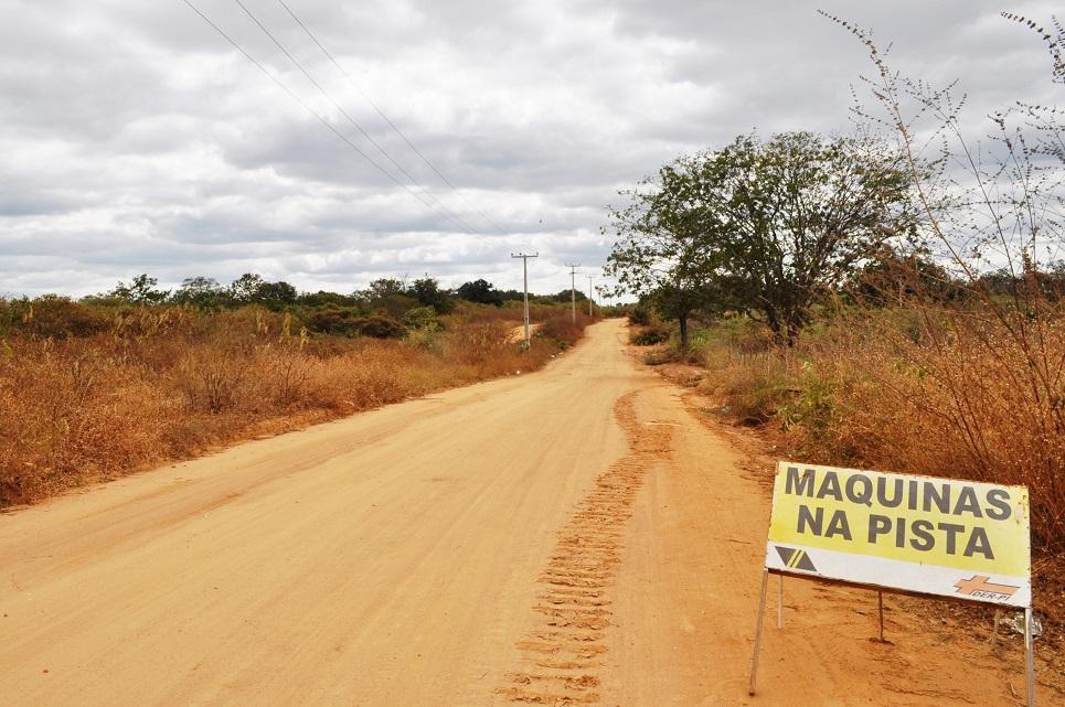Estrada entre Avelino Lopes a Morro Cabeça no Tempo será asfaltada