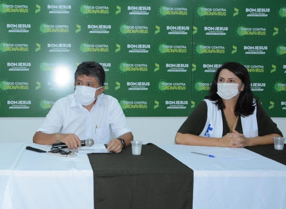 Pré-candidata, Cledja Benvindo deixa Secretaria de Saúde de Bom Jesus