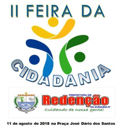 Prefeitura de Redenção realizará II Feira da Cidadania