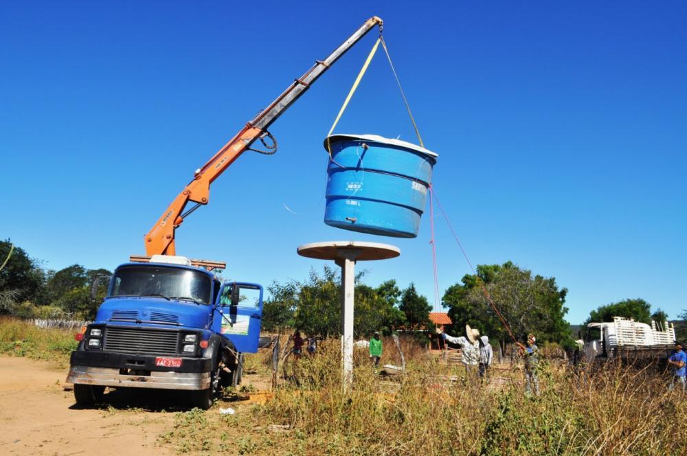 Avelino Lopes: Comunidade Mulungu também terá água encanada