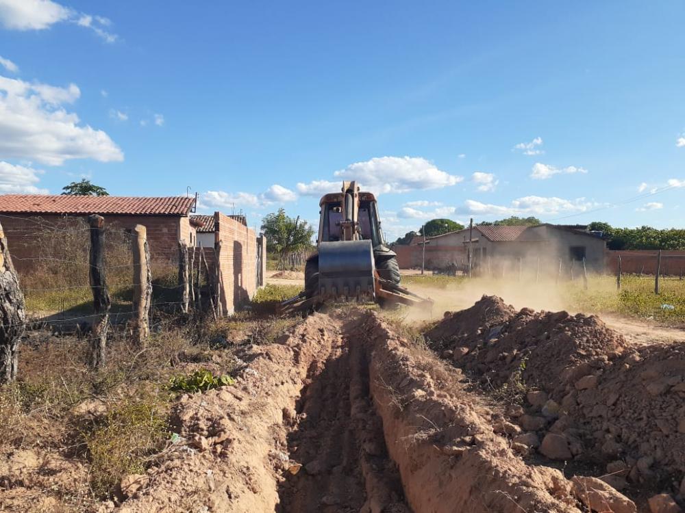 Prefeitura amplia sistema de abastecimento de água em Redenção