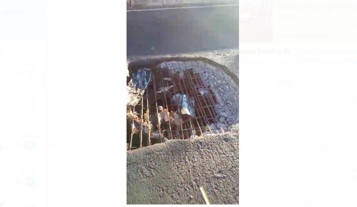 BR-135: Motorista denuncia buraco em ponte entre Eliseu Martins e Manoel Emídio
