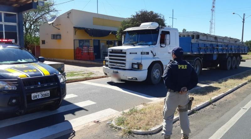 PRF recupera no PI carreta roubada há 22 anos