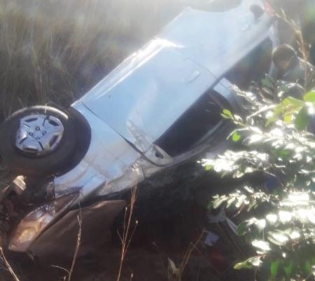 Família que viajava de Brasília à Parnaíba sofre acidente na BR 135