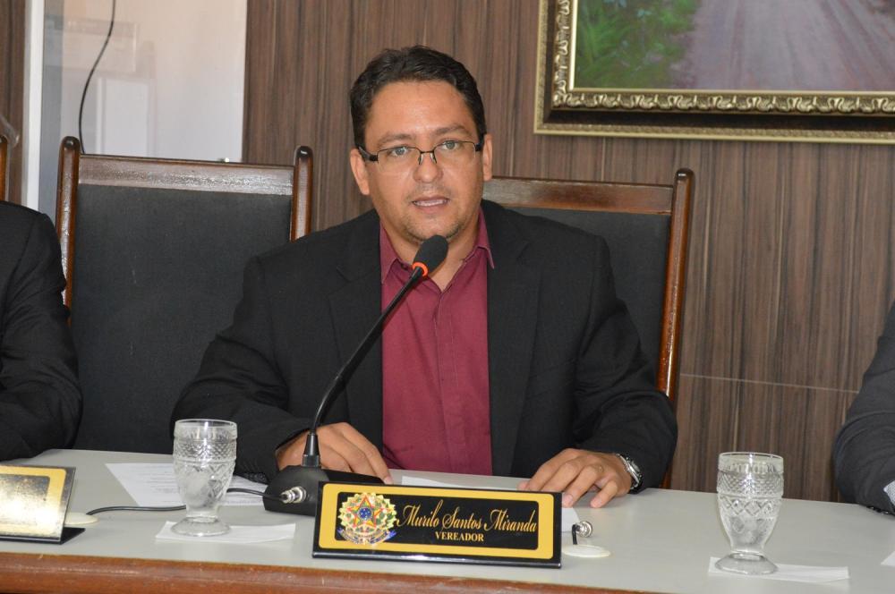 Murilo Miranda é pré-candidato à reeleição em Bom Jesus