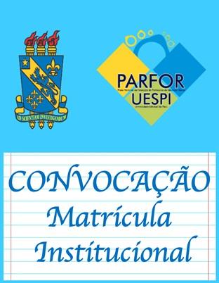 PARFOR convoca professores com inscrições validadas para matrícula institucional