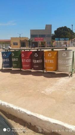Inédito: Iniciado a COLETA SELETIVA de lixo em Gilbués-PI