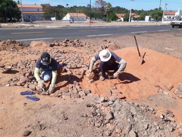 Diversas obras de infraestrutura estão sendo feitas em Gilbués
