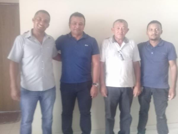 Os candidatos a Deputado, Fabio Abreu e Gorgiano Neto estiveram em GILBUÉS