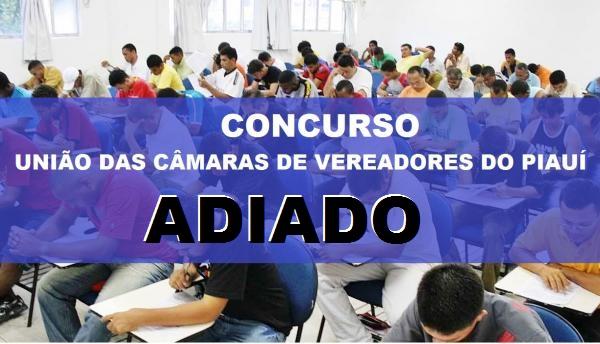 ADIADO: Prova do Concurso das Câmaras de Redenção, Bom Jesus e São Gonçalo