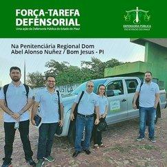 Defensoria realiza Força-Tarefa na Penitenciária Regional de Bom Jesus