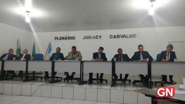 Sessão Ordinária da Câmara de Vereadores de Gilbués