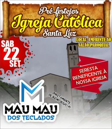 Paróquia de São Francisco de Assis realiza pré-Festejos em Santa Luz.
