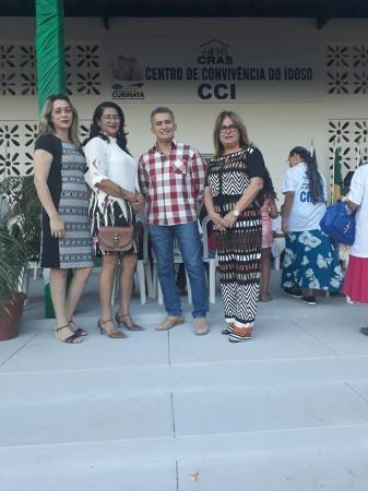 Centro de Convivência do Idoso (CCI) é reinaugurado em Curimatá