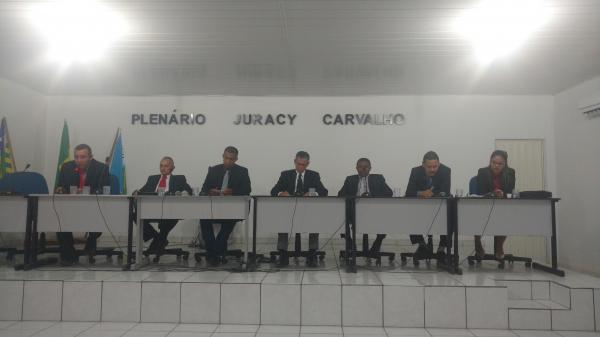 Na última quinta (30) foi realizada sessão ordinária da câmara de vereadores da cidade de Gilbués