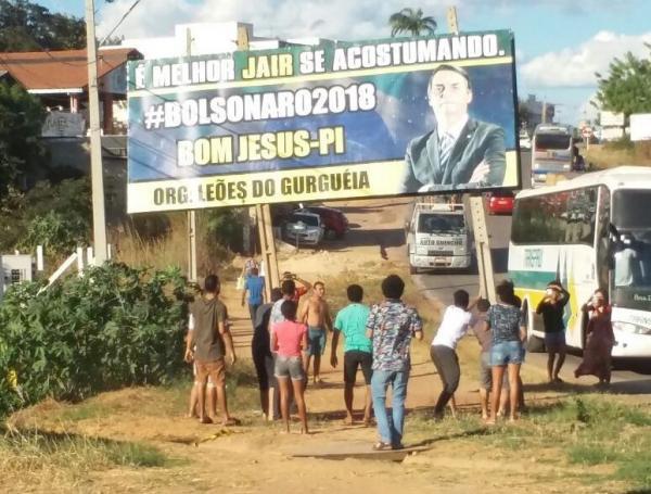 Está sendo investigado propaganda irregular de Bolsonaro em Bom Jesus
