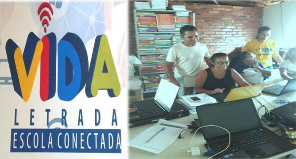 Formação do Programa 'Vida Letrada, Escola Concetada' em Redenção '