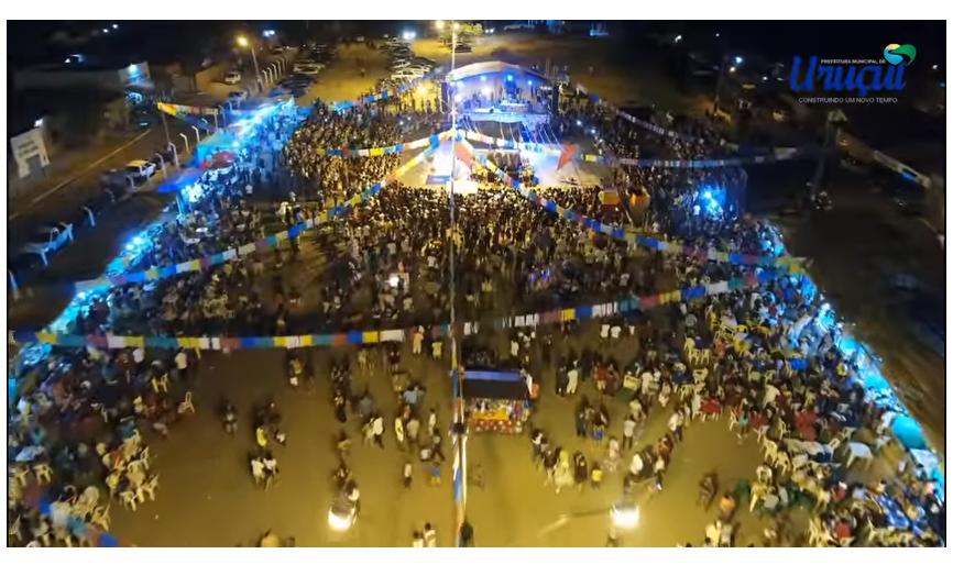 Tradição, cultura e beleza marcam Festival de Quadrilhas em Uruçuí - PI.
