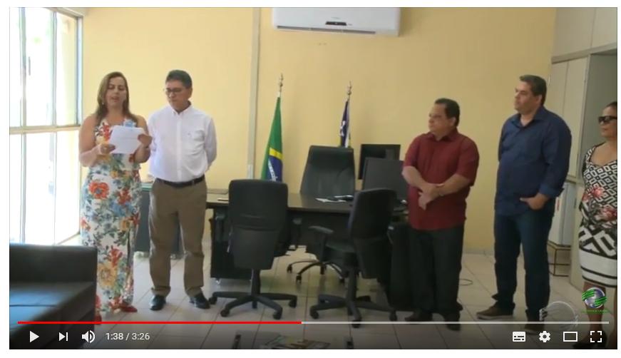 Reportagem na TV Cidade Verde sobre a licitação para ponte em Santa Filomena-PI