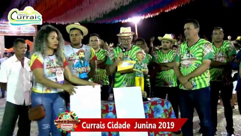 Currais Cidade Junina 2019 - 3ª Noite 15/06/2019