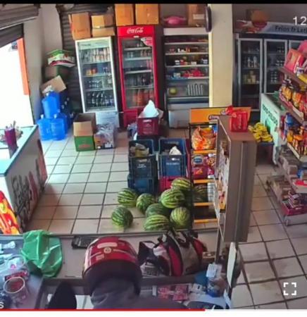 Assalto a mercadinho na cidade de Avelino Lopes-PI