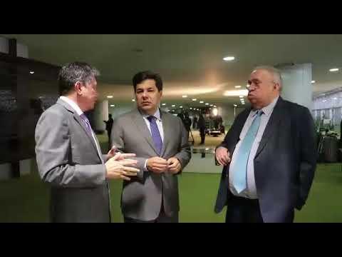 Marcos Elvas, Mendonça Filho e Heráclito Fortes