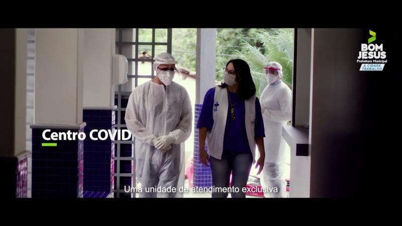 Bom Jesus: 'Centro Covid' é referência no atendimento de pacientes