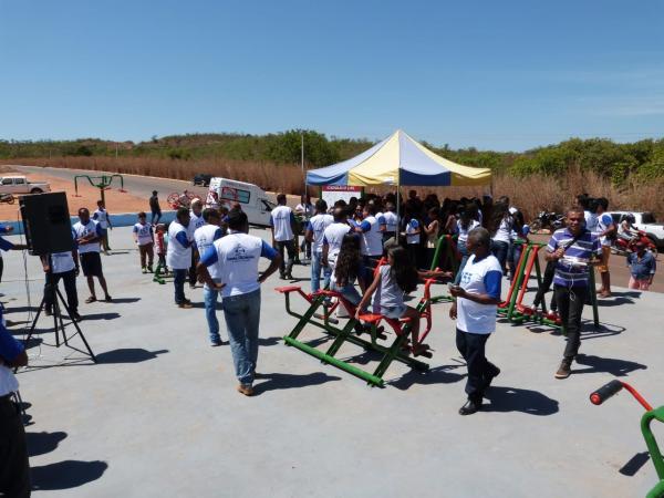 Inaugurações aniversário de Santa Filomena-PI