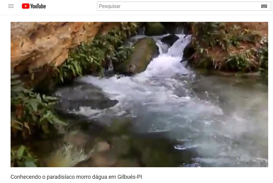 Conhecendo o paradisíaco morro dágua em Gilbués-PI; a cidade faz hoje 85 anos