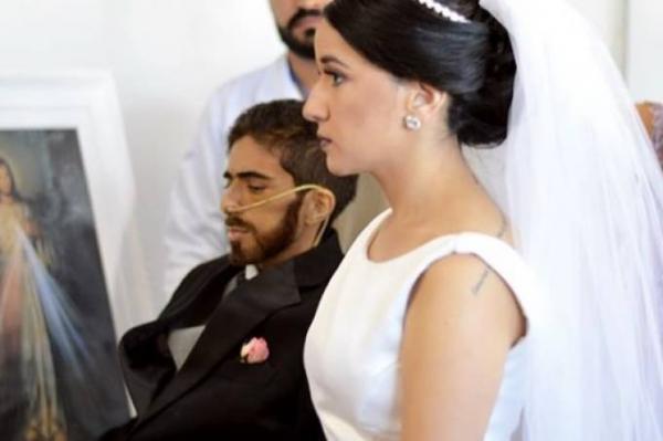 Casamento no hospital: o noivo, que tinha câncer, morreu quatro dias após