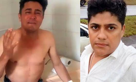 Cantor Cristiano Neves chora e lamenta a morte do filho