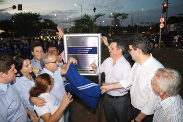 Avenida Padre Humberto em Teresina foi viabilizada pelo Senador Ciro